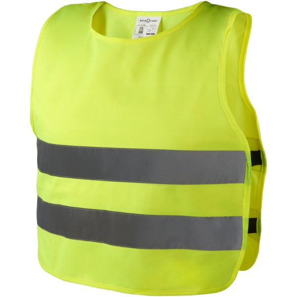 Reflective unisex safety vest - Yellow