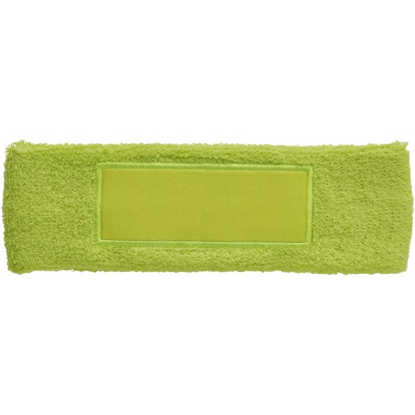 Roger fitness headband - Lime