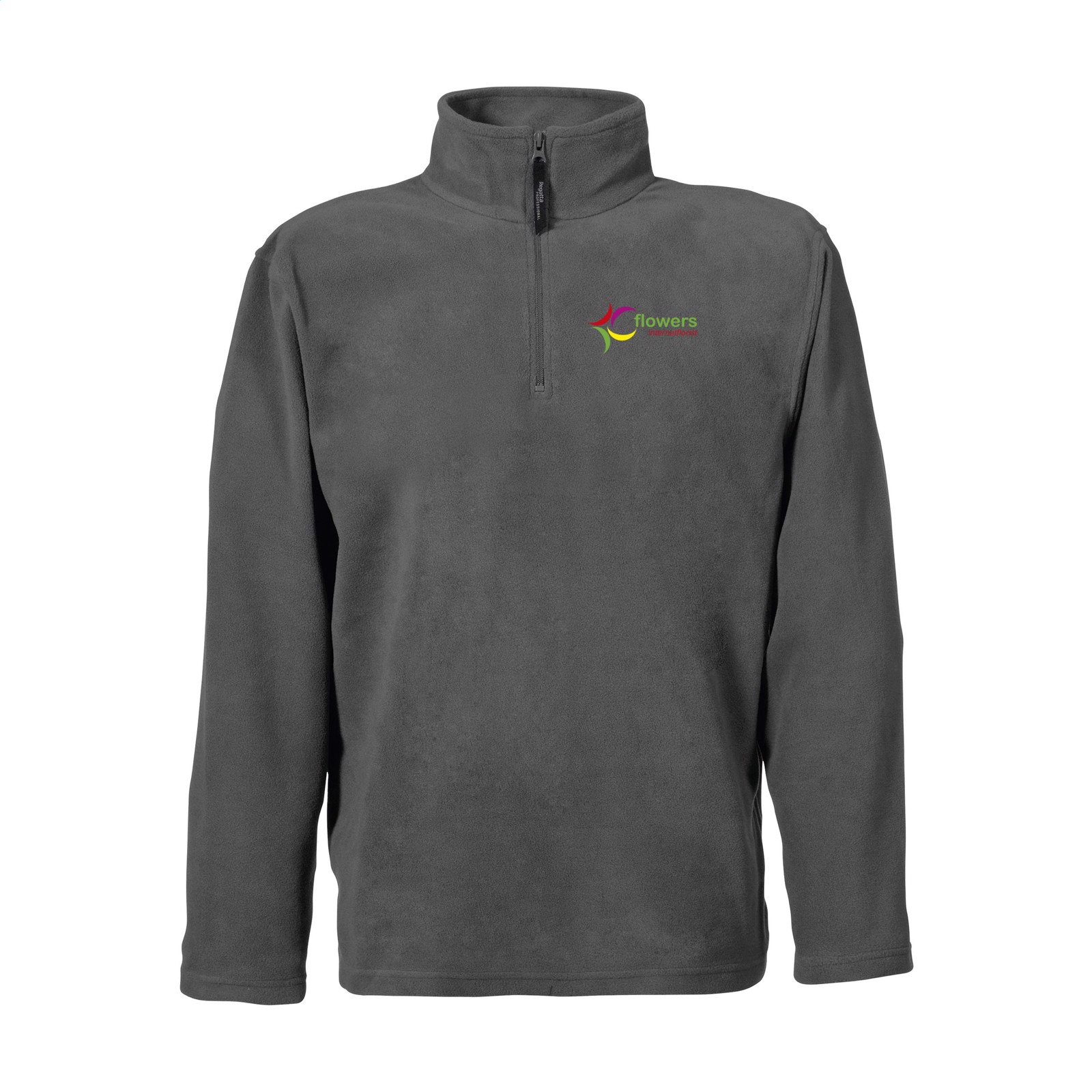 Regatta Micro Zip Neck Fleece Sweater Mens - Grey / 4XL