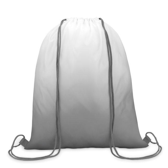 210D polyester drawstring bag Fade Bag - Grey