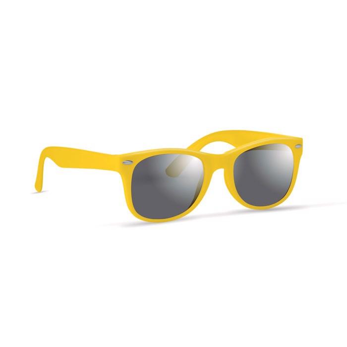 Okulary przeciwsłoneczne America - żółty