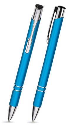 Kovová propiska COSMO - Turquoise