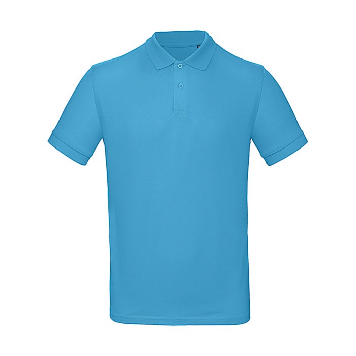 Polo men Poloshirt - Turquoise / XXL