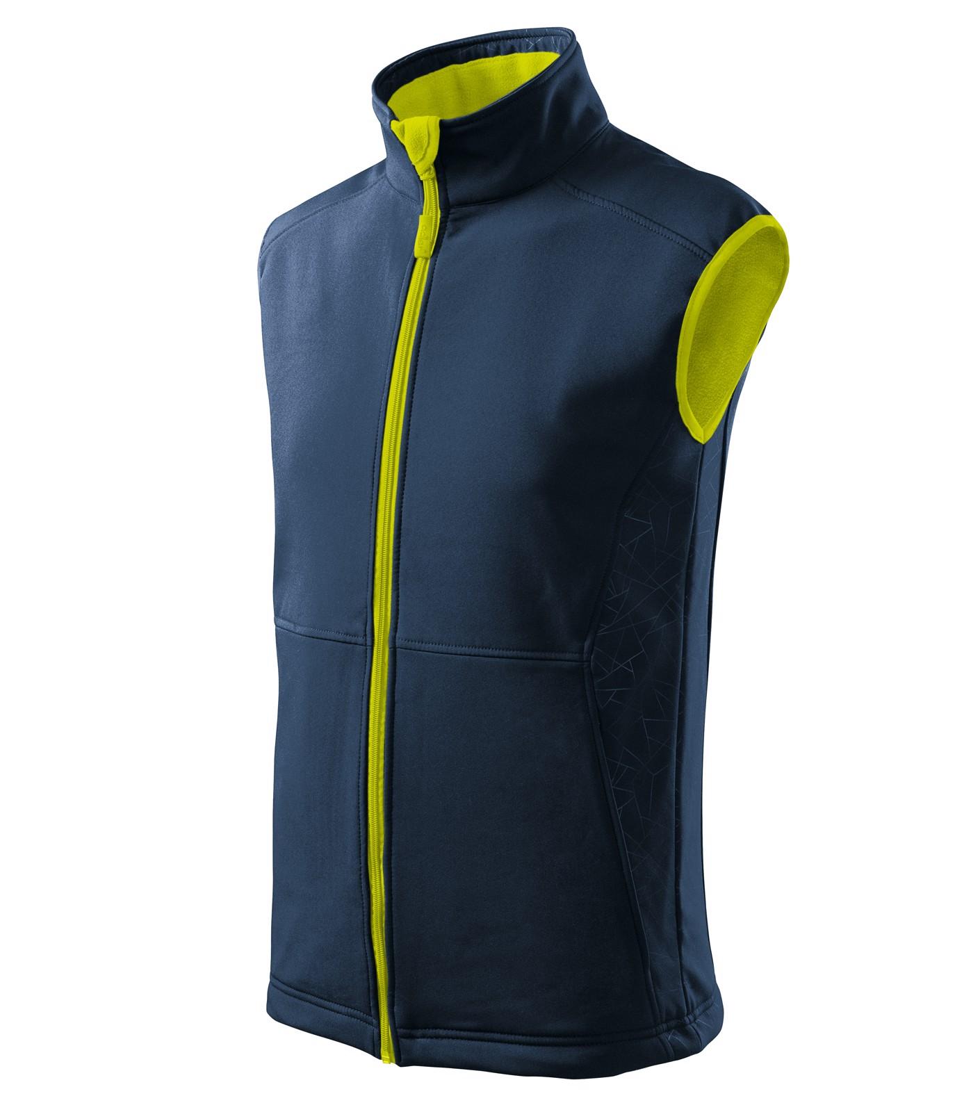 Softshellová vesta pánská Malfini Vision - Námořní Modrá / M