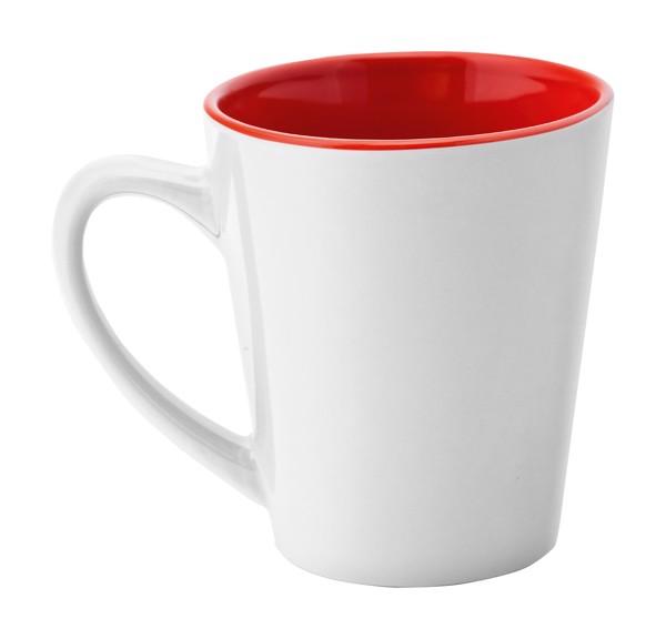 Mug Salo - White / Red