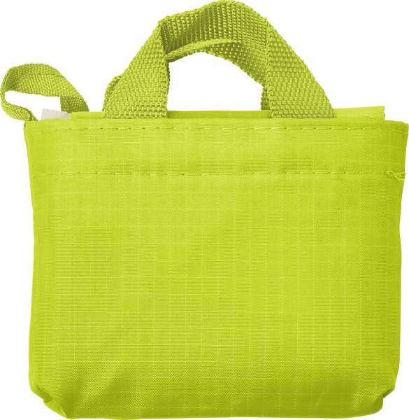 Einkaufstasche 'Elke' aus reißfestem Polyester - Lime