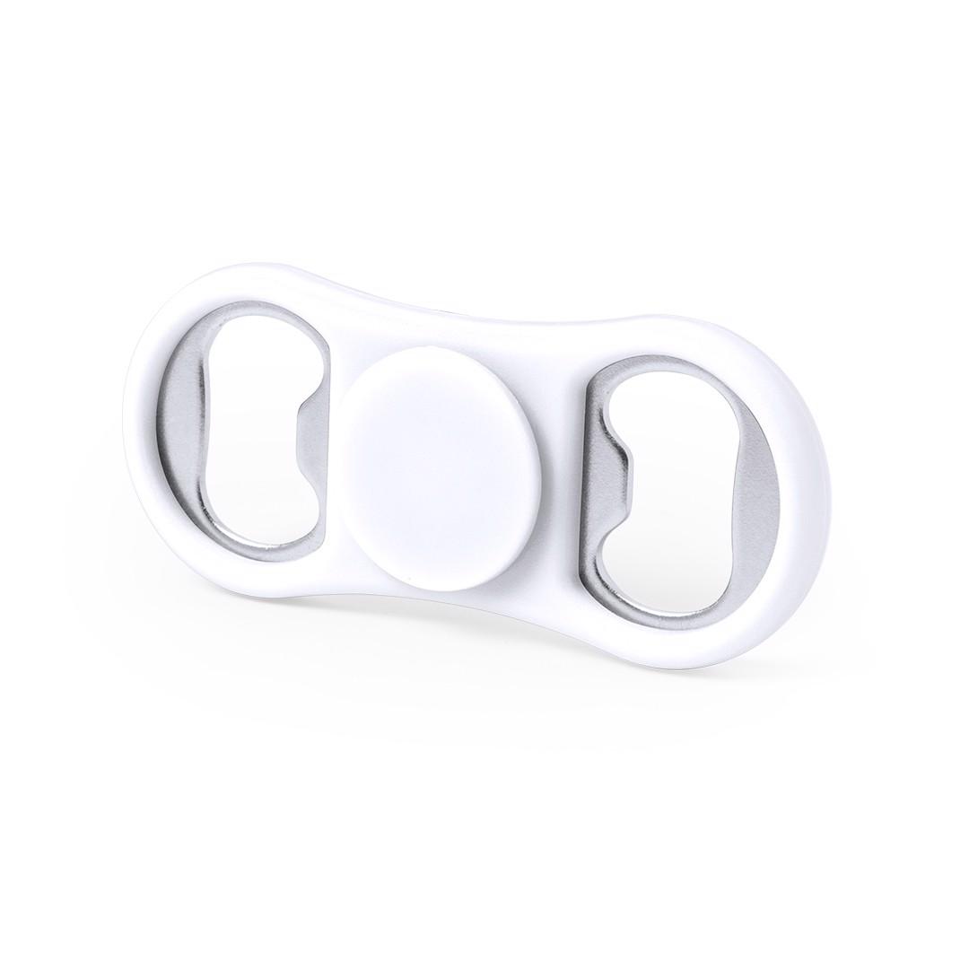 Fidget Spinner Abridor Slack - Blanco