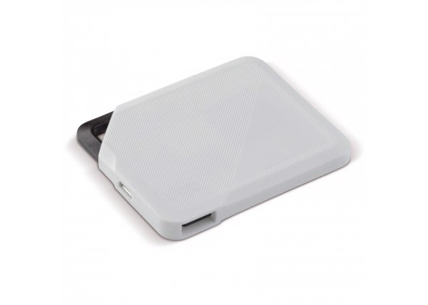 Powerbank keychain 1200mAh - White