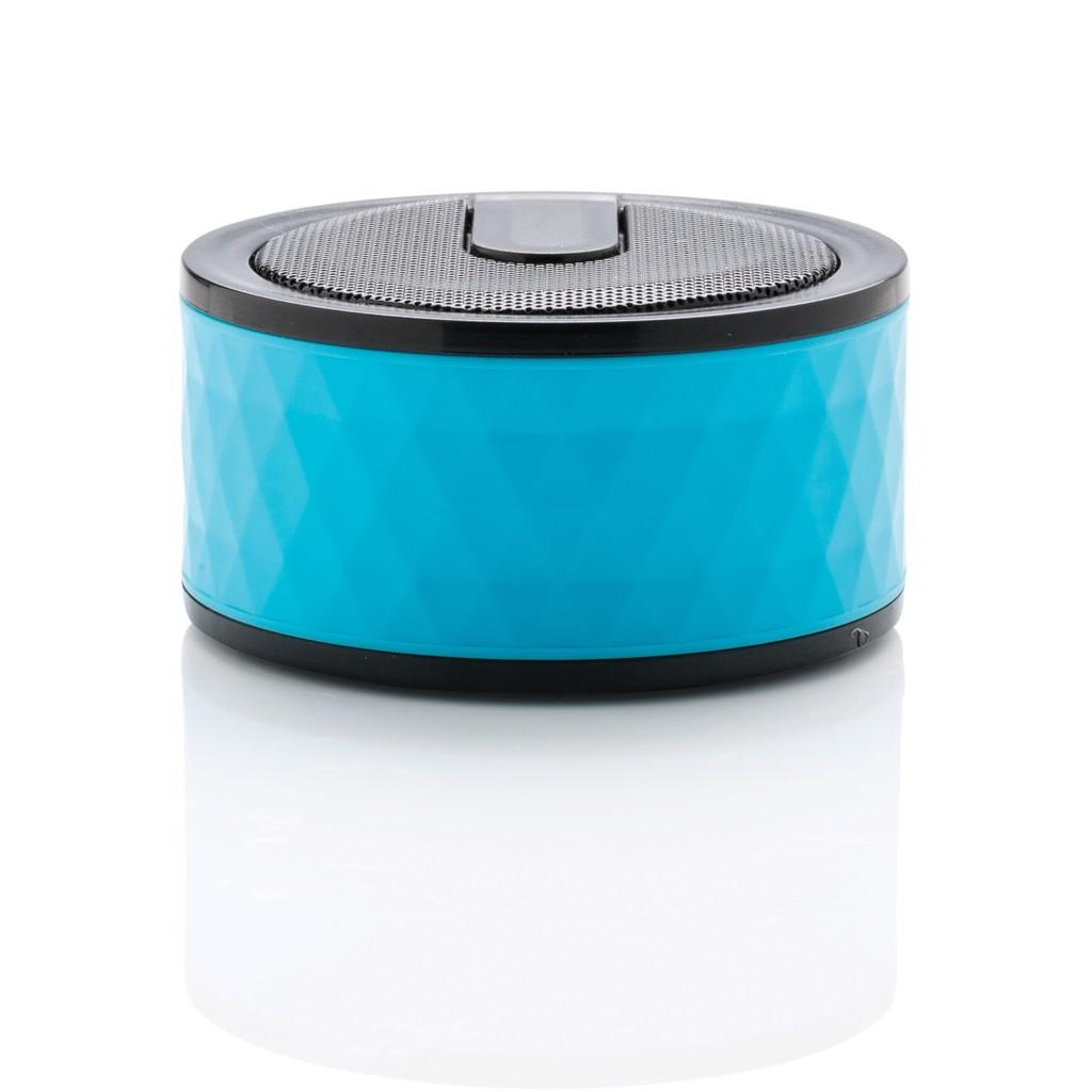 Geometrikus vezeték nélküli hangszóró - Kék