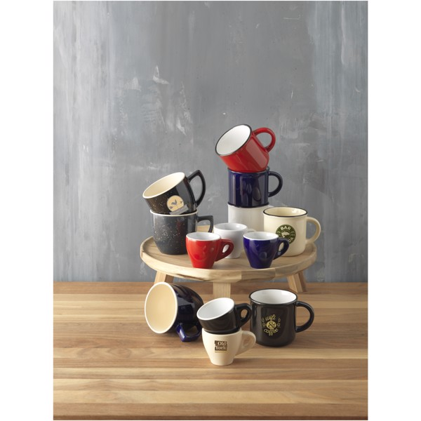 Lakeview 310 ml ceramic mug - Solid Black