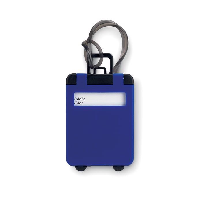 Plastové jmenovky Traveller - royal blue