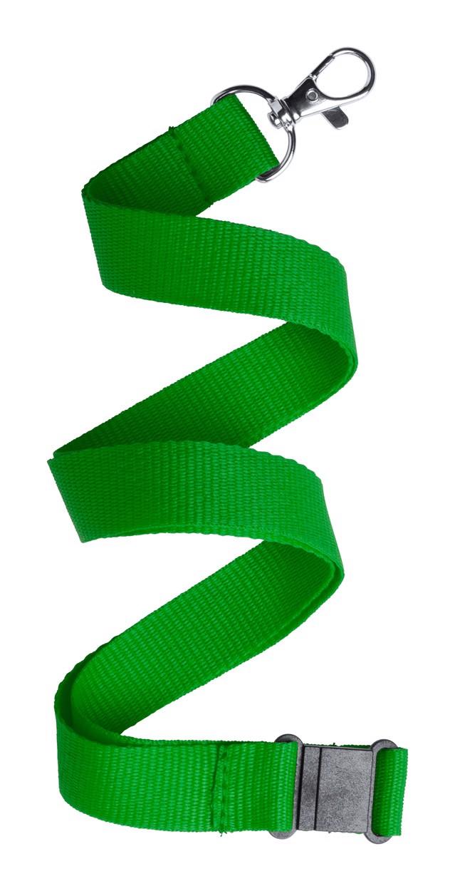 Lanyard Kappin - Zelená