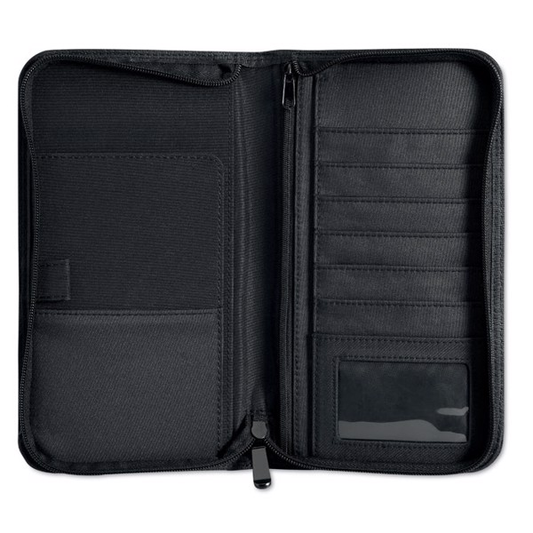 Micro fibre travel wallet Cas