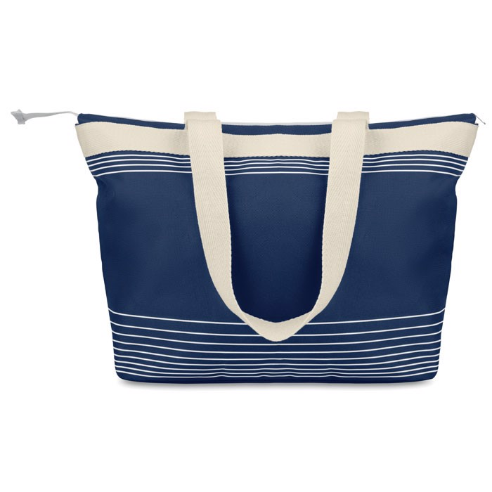 Beach bag combi 600D/canvas Palawan - Blue