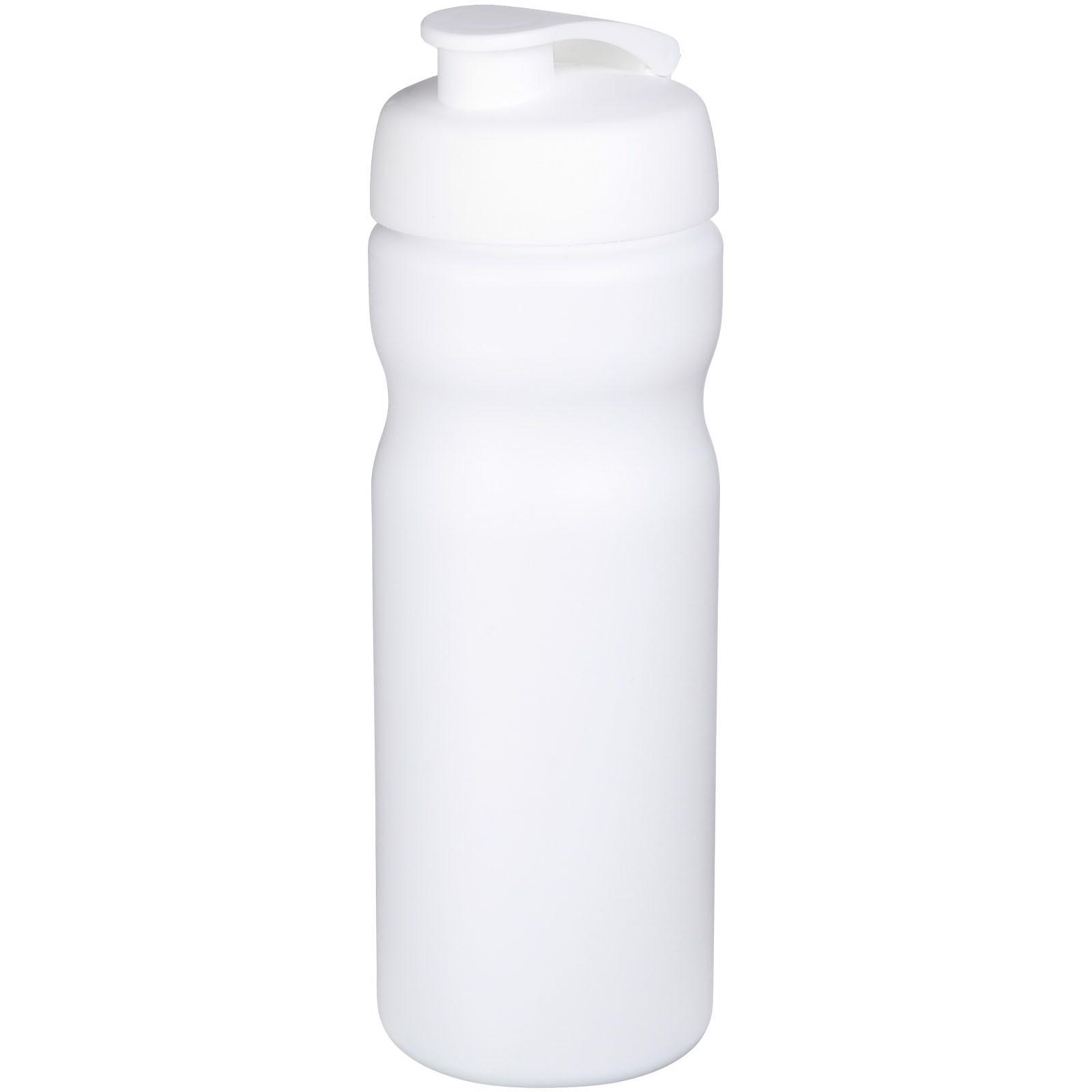 Sportovní láhev s vyklápěcím víčkem Baseline® Plus 650 ml - Bílá