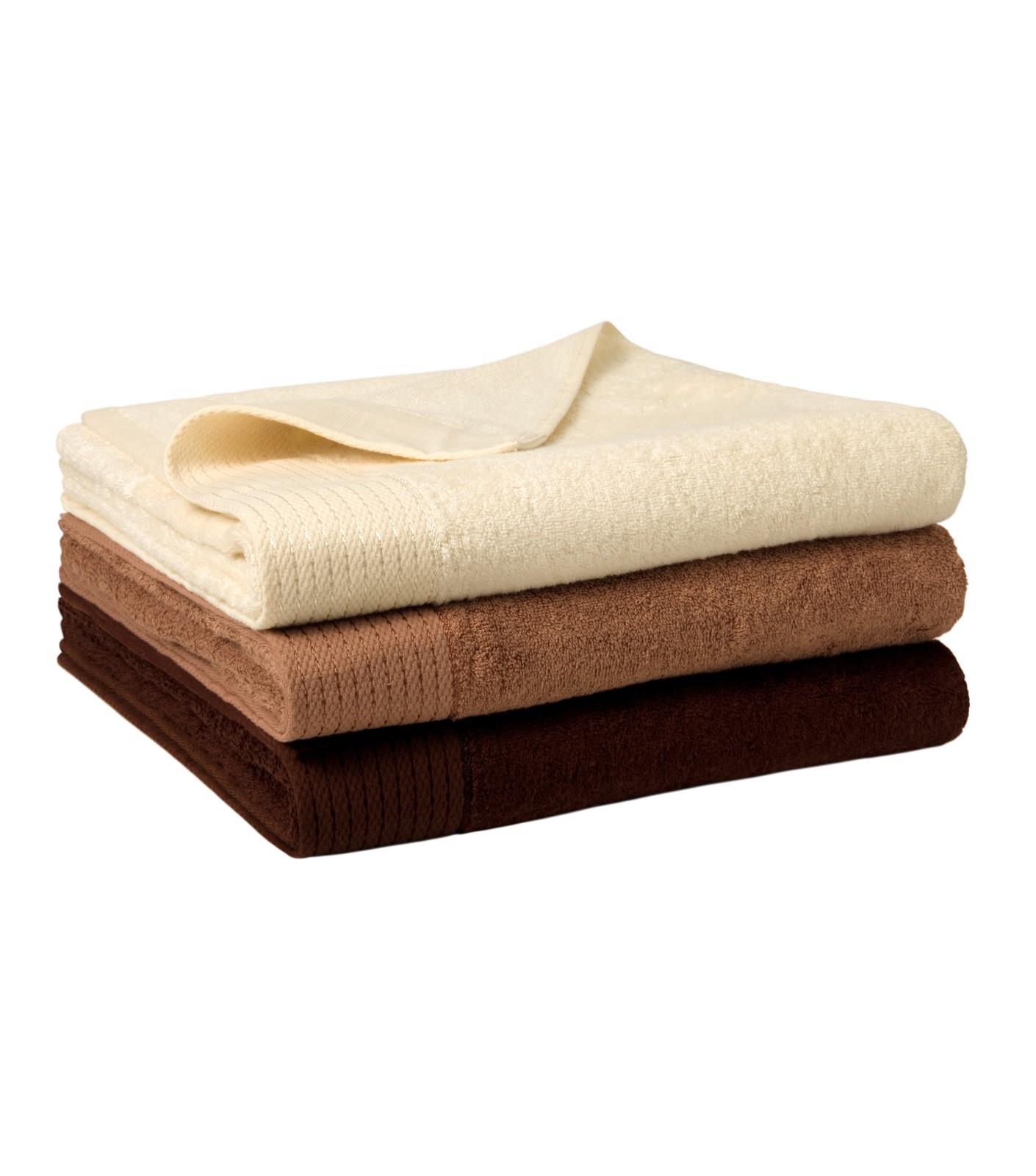 Osuška unisex Malfinipremium Bamboo Bath Towel - Mandlová / 70 x 140 cm