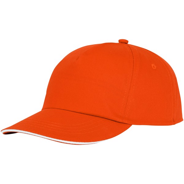 Styx 5 panel sandwich cap - Orange