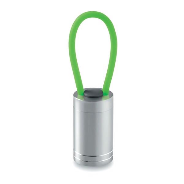 Aluminium torch glow in dark Glow Torch - Green