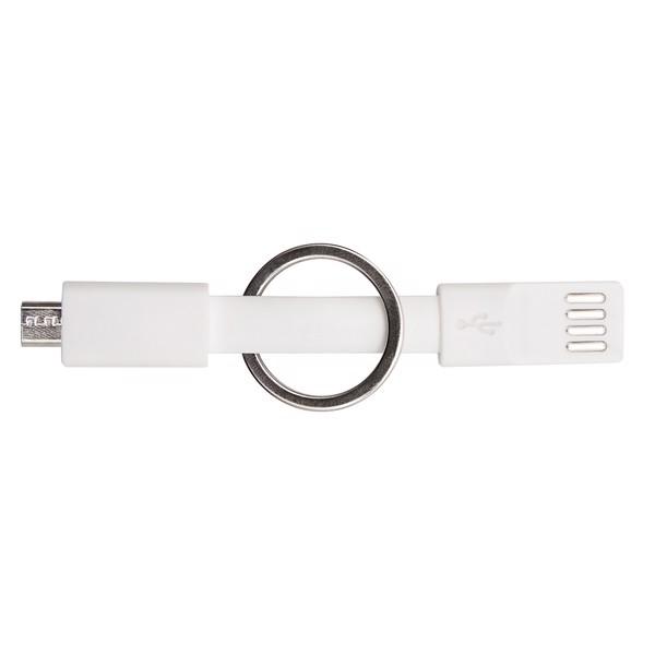 Brelok USB Hook Up - Biały