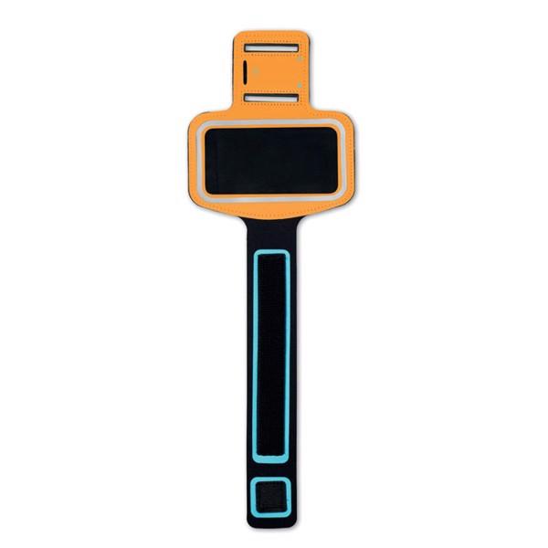 Neoprene armband pouch Armphone - Orange