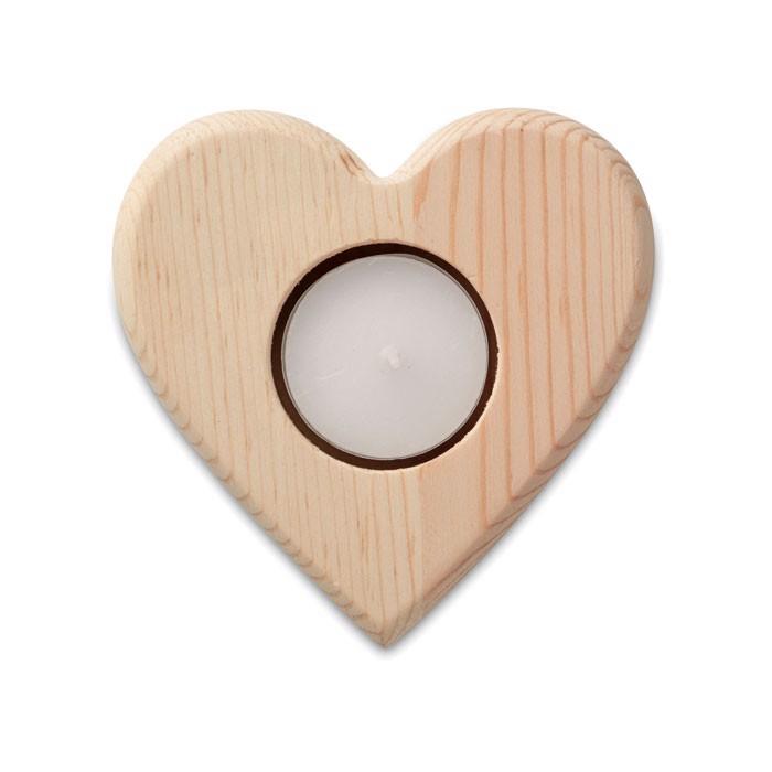 Svečnik v obliki srca Teaheart