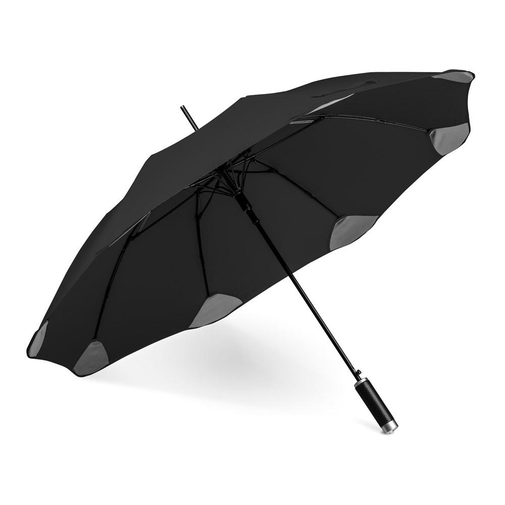 PULLA. Deštník s automatickým otevíráním - Černá