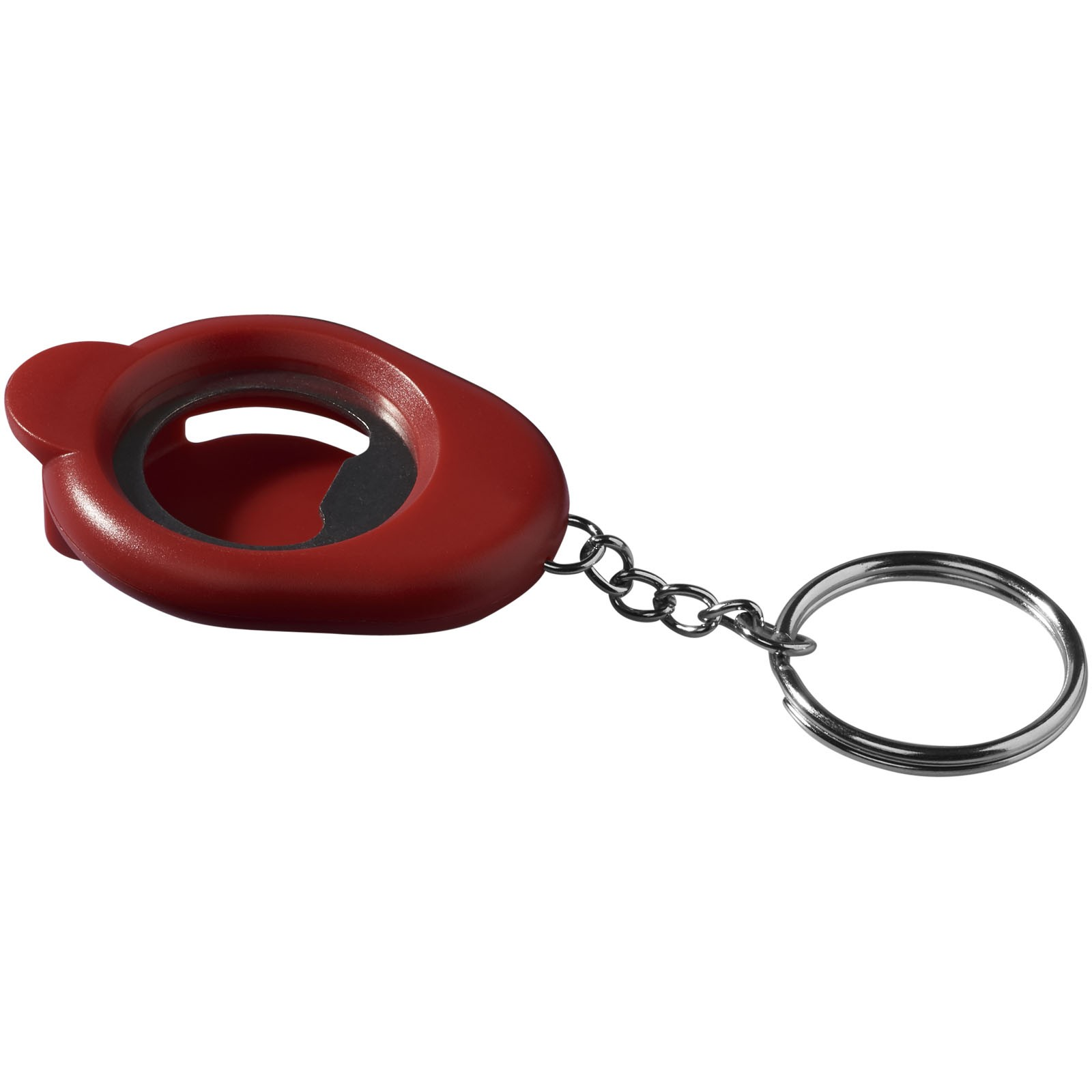 Cappi bottle opener key chain - Red