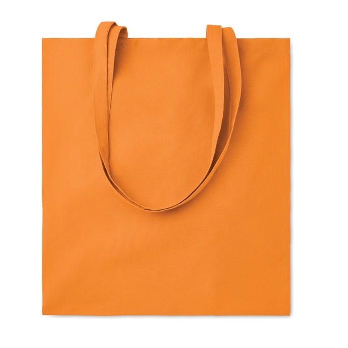 Bawełniana torba na zakupy Cottonel Colour - pomarańczowy