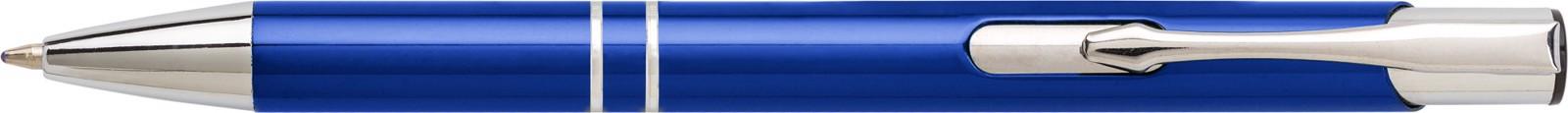 Aluminium ballpen - Blue