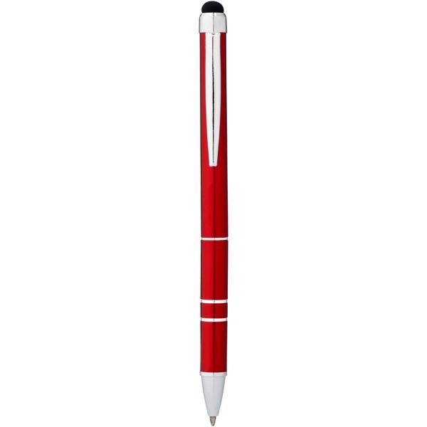 Długopis ze stylusem Charleston - Czerwony
