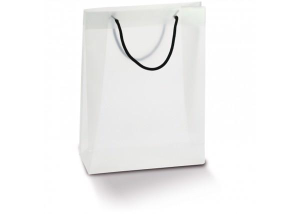 Carrier bag PP large - Transparent White