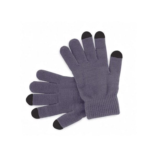 Touchscreen Gloves Actium - Grey