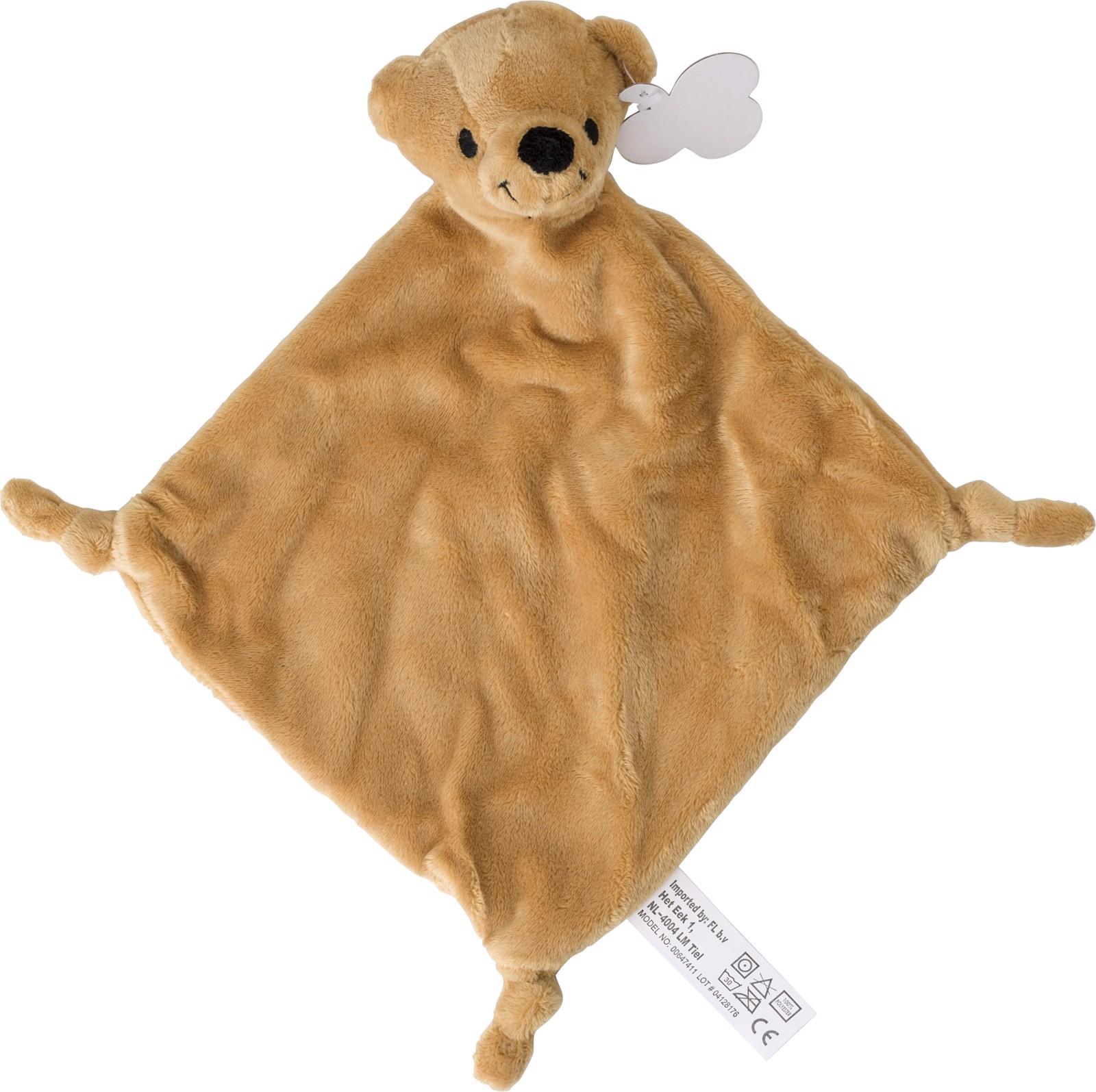 Plush cloth - Brown