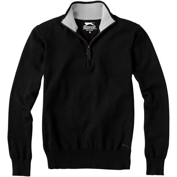 Set quarter zip pullover - Solid black / M