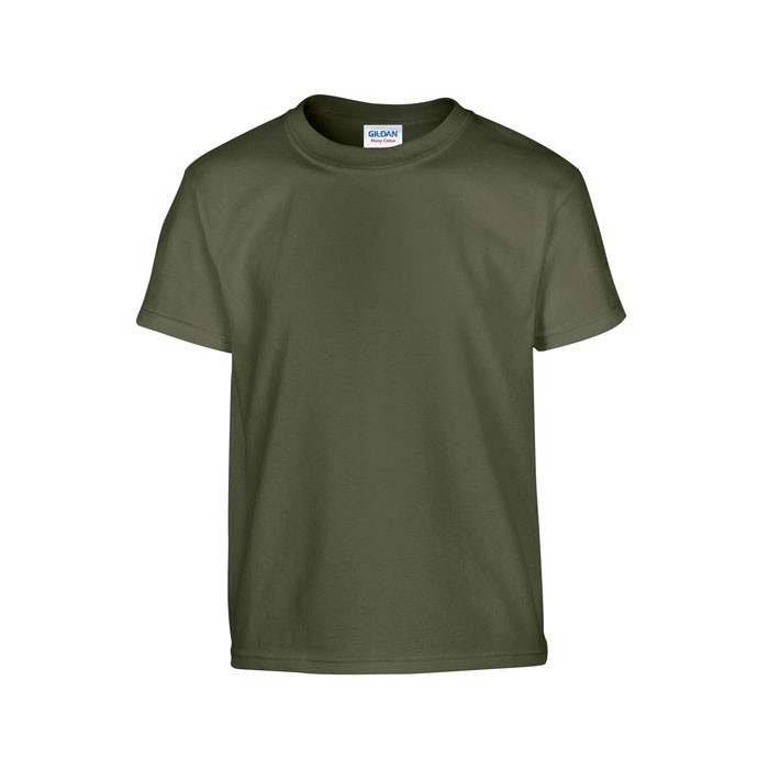 Youth t-shirt 185 g/m² Heavy Youth T-Shirt 5000B - Military Green / XS