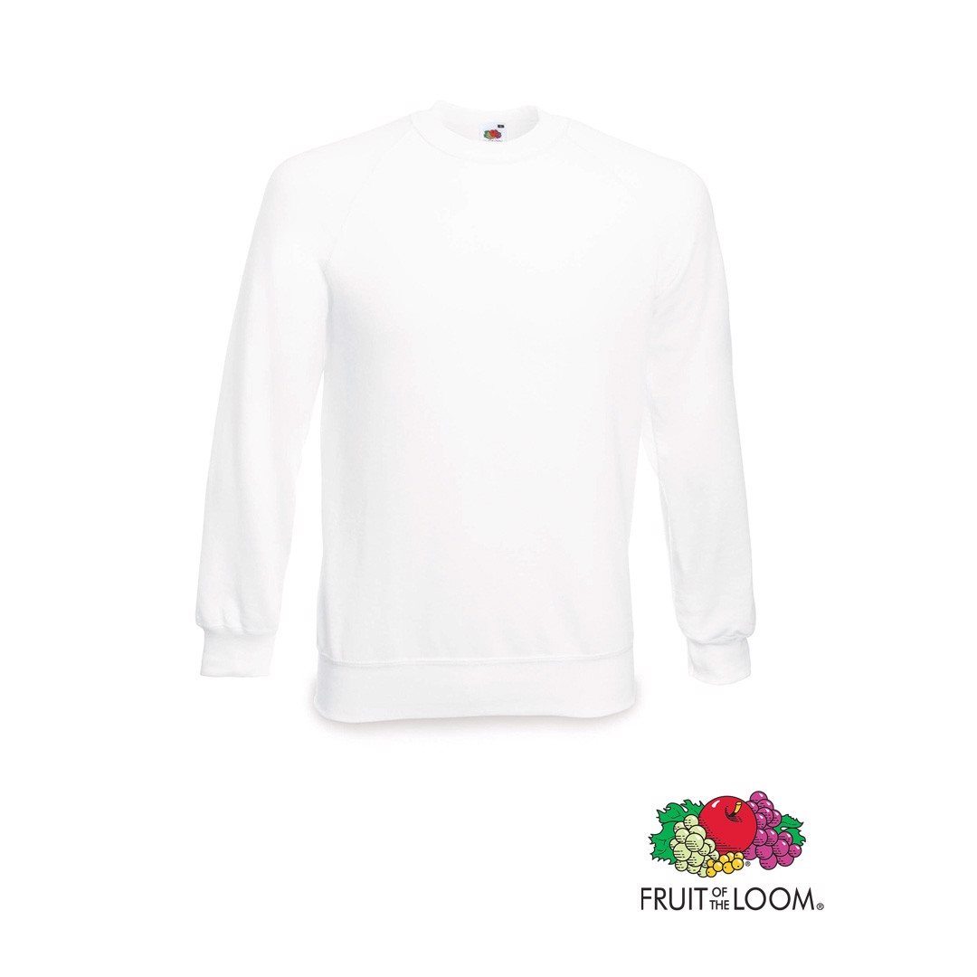 Sudadera Raglan - Blanco / 7-8