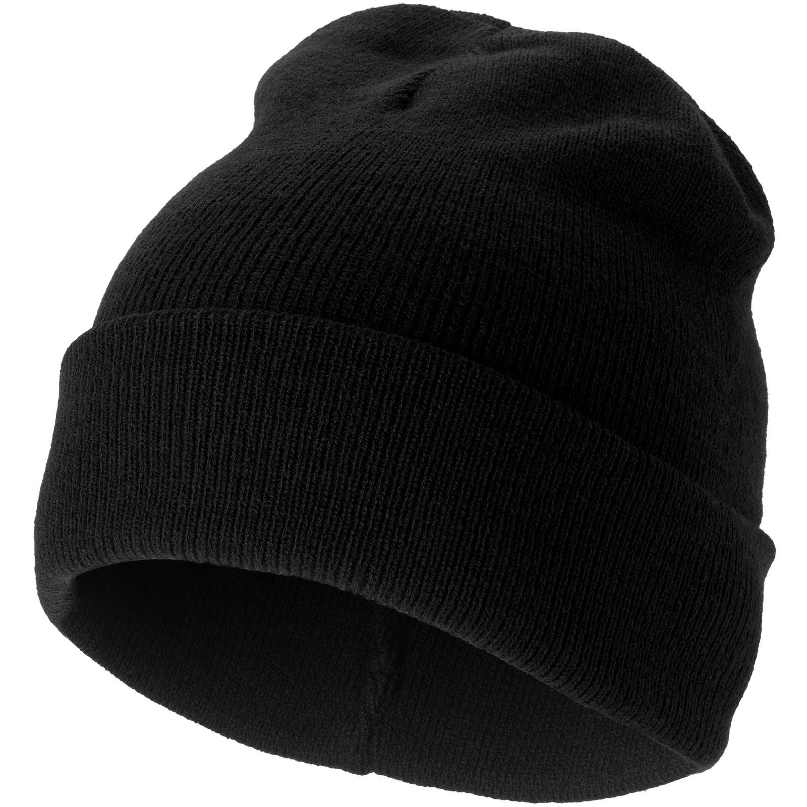 Irwin beanie - Solid black