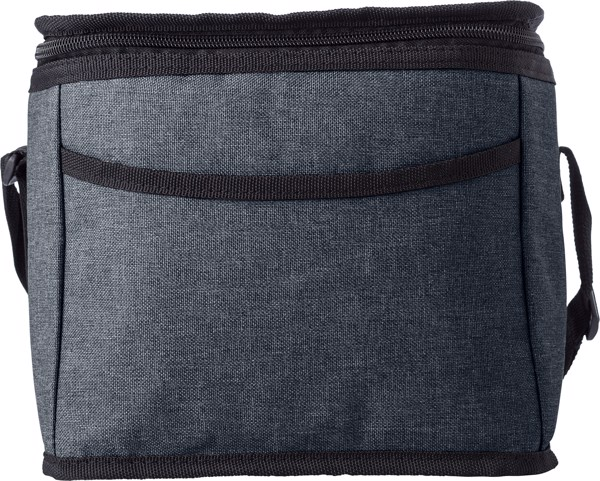 Polycanvas (600D) cooler bag - Black