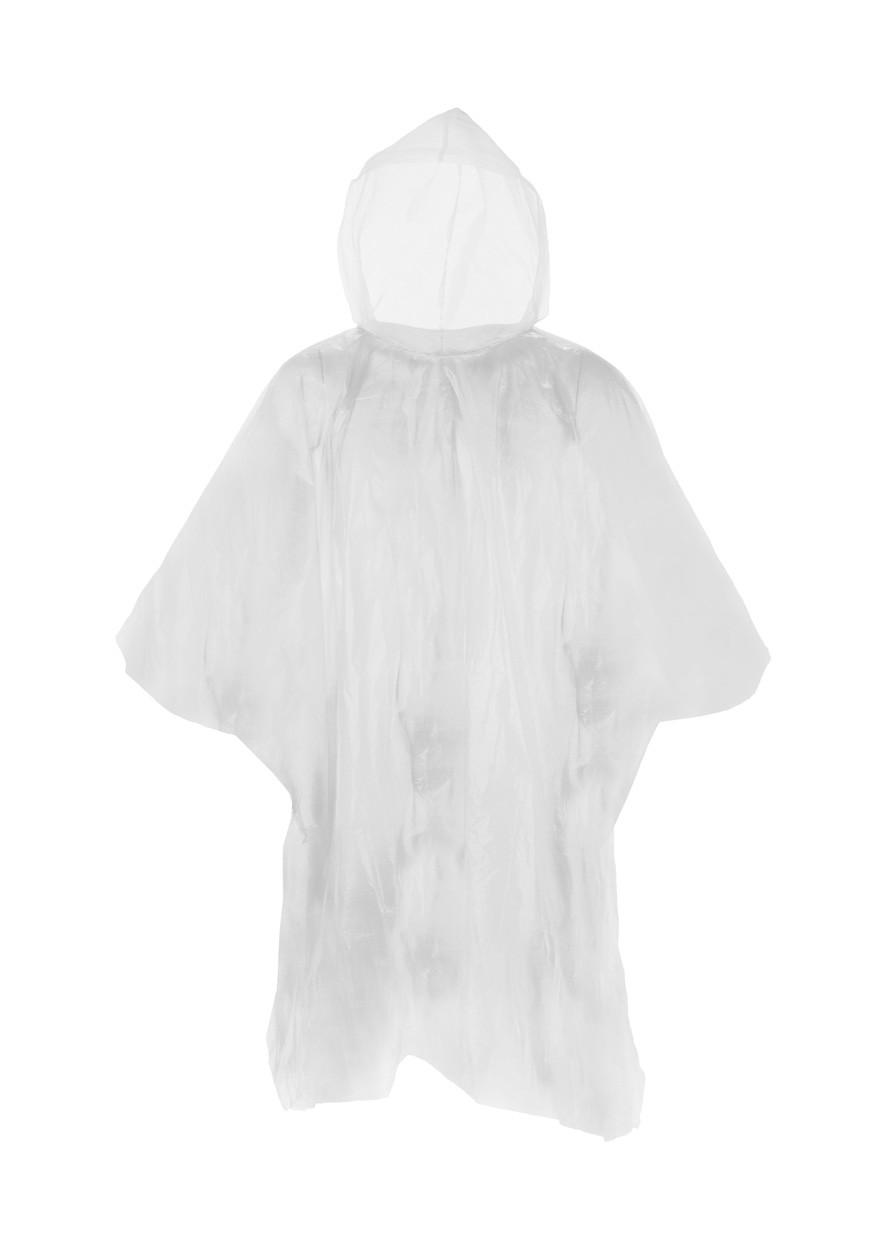 Pláštěnka Pončo Remo - Bílá