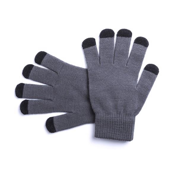Touchscreen Gloves Tellar - Grey / Black
