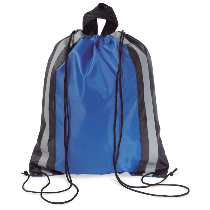 Worek - Torba odblaskowa Glitterbag - niebieski