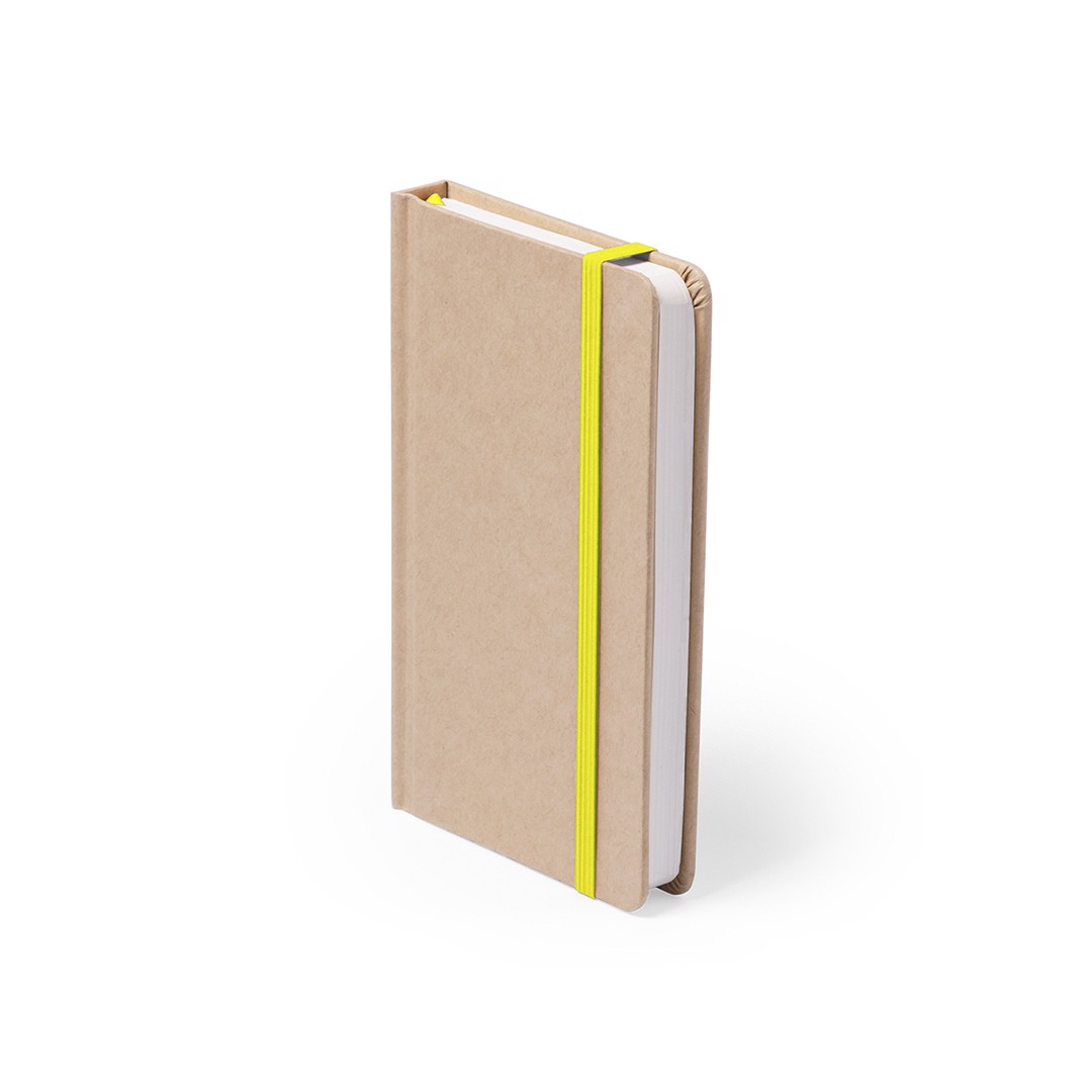 Bloco de Notas Bosco - Amarelo