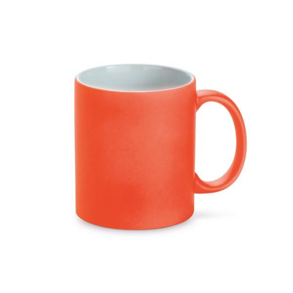 LYNCH. Taza de cerámica 350 ml - Naranja