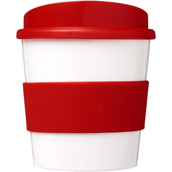 Hrnek s rukojetí Brite-Americano® primo 250 ml - Červená s efektem námrazy