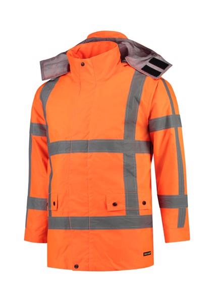 Pracovní bunda unisex Tricorp RWS Parka - Fluorescenční Oranžová / M