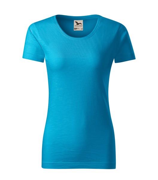 T-shirt Ladies Malfini Native - Blue Atoll / 2XL