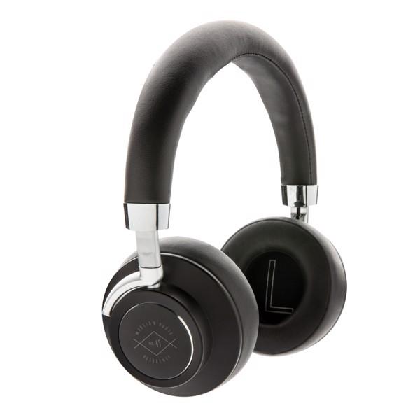 Komfortní bezdrátová sluchátka Aria - Černá
