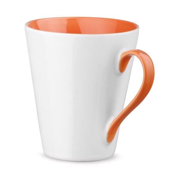 COLBY. Keramický hrnek 320 ml - Oranžová