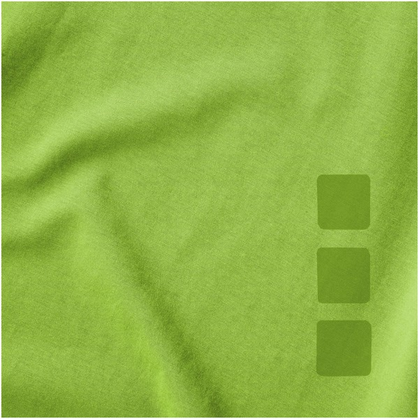 """Camiseta orgánica de manga corta para hombre """"Kawartha"""" - Verde Manzana / S"""