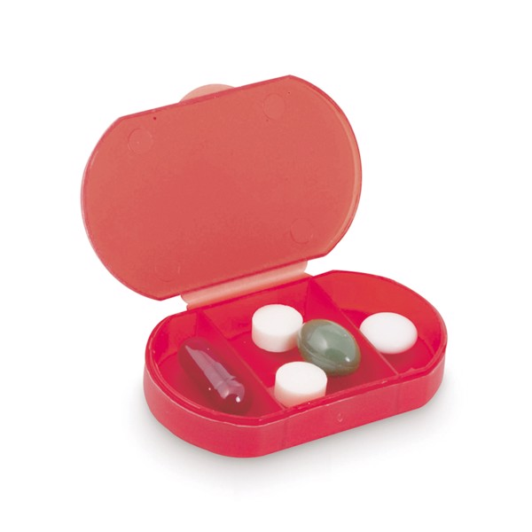 Caixa para Comprimidos Trizone - Branco
